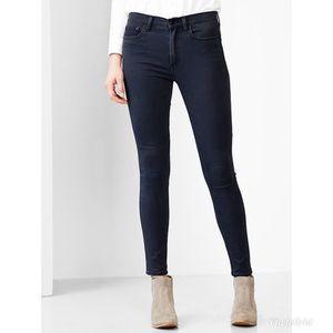 Gap High Rise Skinny Jeans Dark Wash 32R